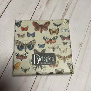 2/20 Biological set of 4 butterfly coasters.